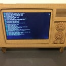 Battery Operated Cardboard HDMI Retro TV Stand for your Raspberry Pi