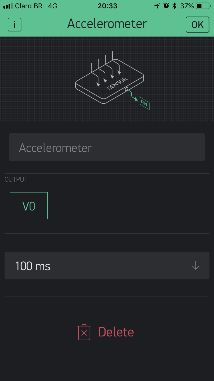 Blynk App #3 - Accelerometer