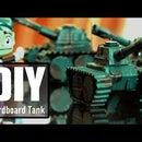 DIY Cardboard Tank