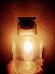 Light in a Bottle Photography