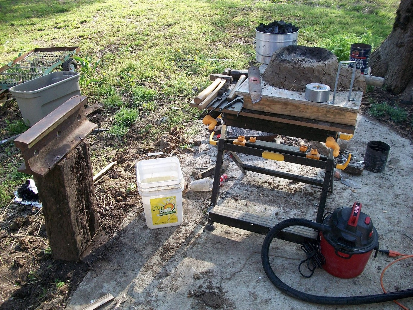 Forging Ahead! Well, a Froe, But That's a Different Instructable
