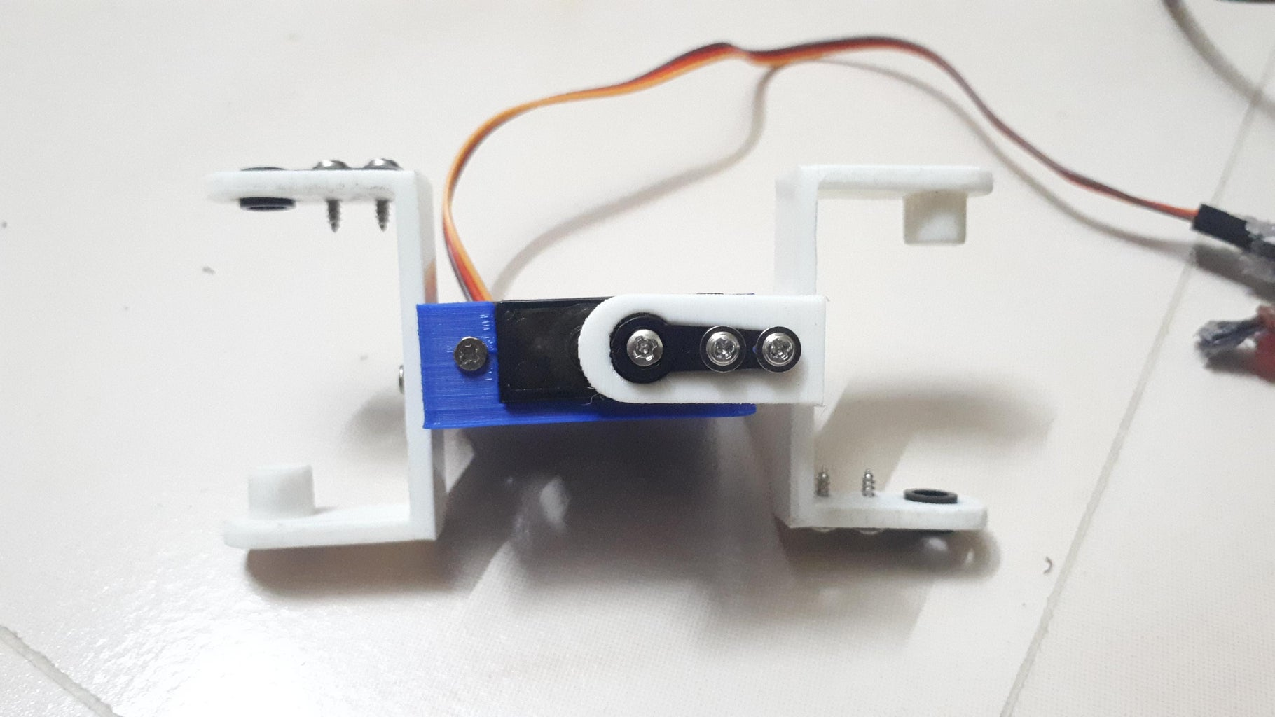 Connect Servo With Home Degree