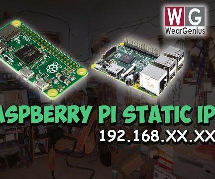 Setting up Static IP on raspberry Pi