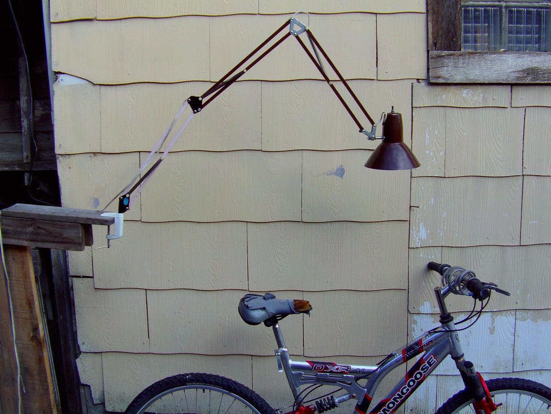 Long Arm Swing Lamp