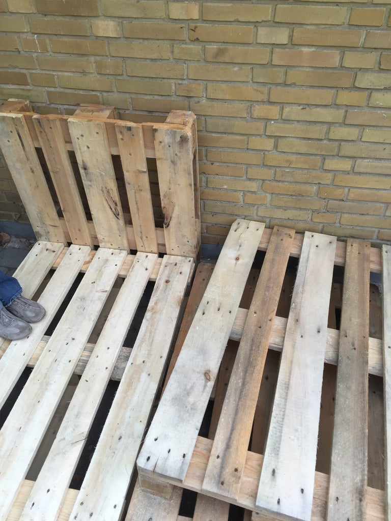Cut 4 Pallets From 120 to 80 CM Long