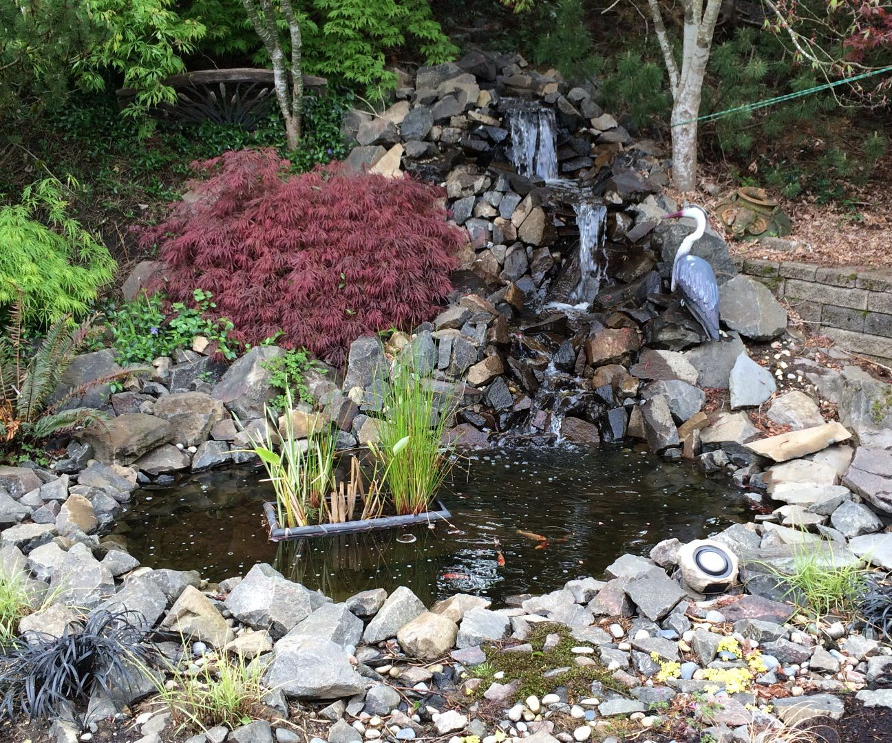 Image of: Backyard Pond And Waterfall No Experience Necessary 9 Steps With Pictures Instructables