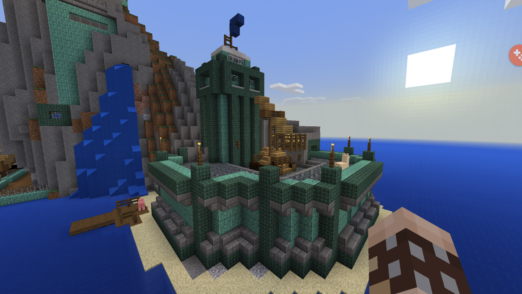 The Tower on the Island...
