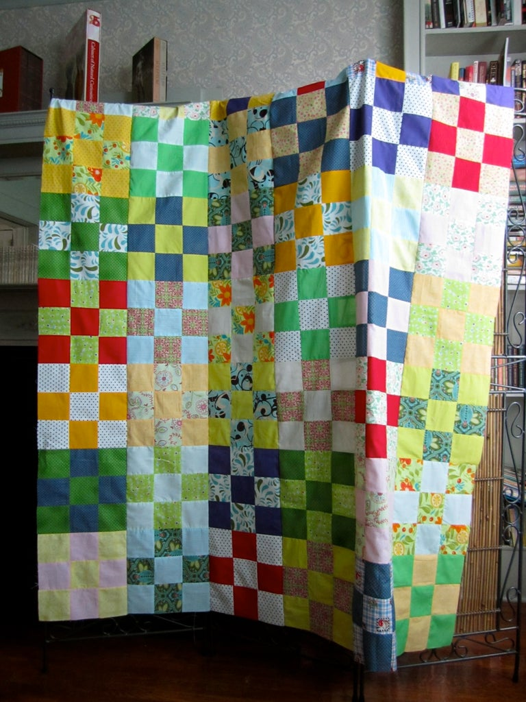 You Quilt Top Is Done!