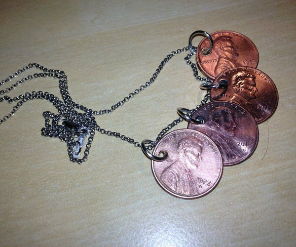 Penny Momento Necklace