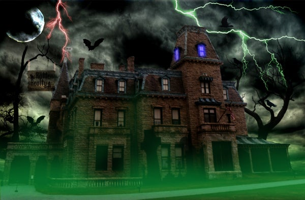 House to Haunted House Photo Edit!