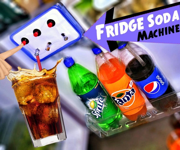 Make Coca Cola Soda Fountain Dispenser Machine at Your Home Fridge !