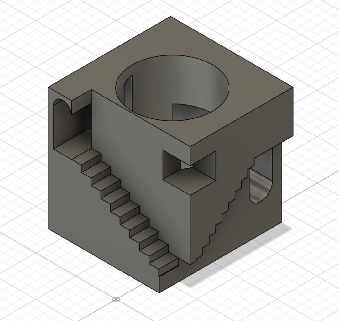 M.C.Escher's Relativity-CAM