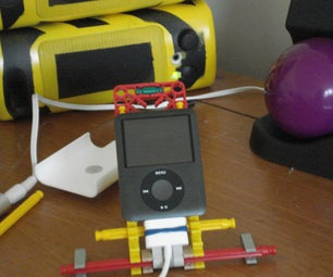 A K'nex IPod Dock for All Ages!