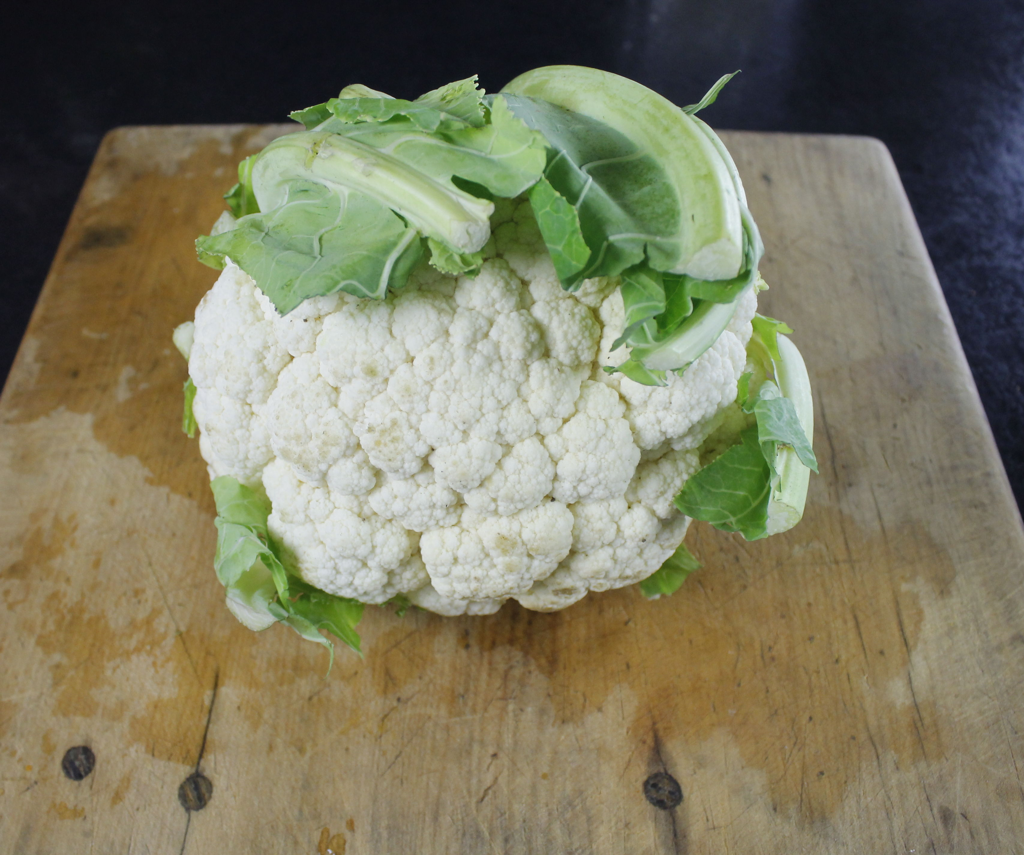How to Cut up and Puree a Cauliflower