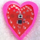 How to make a charlieplexed LED heart