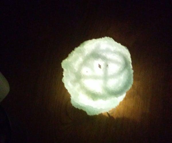 Borax Crystal Lamp