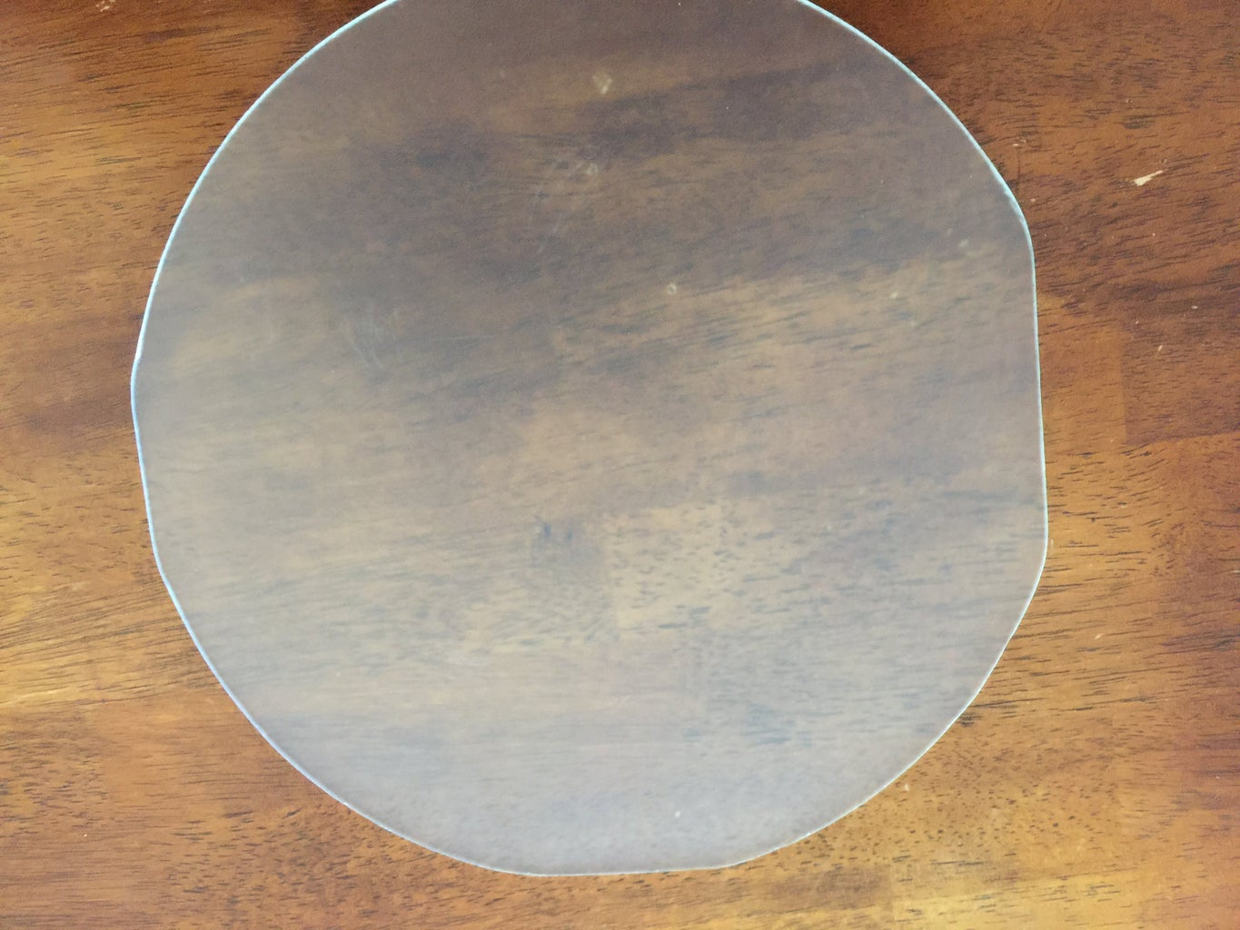 Cut and Attach a Glass Plate to the Top of the Heated Bed...