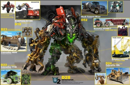 Knex Transformers Devastator Part 1.5