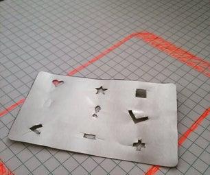Aluminium User Interface Stencils
