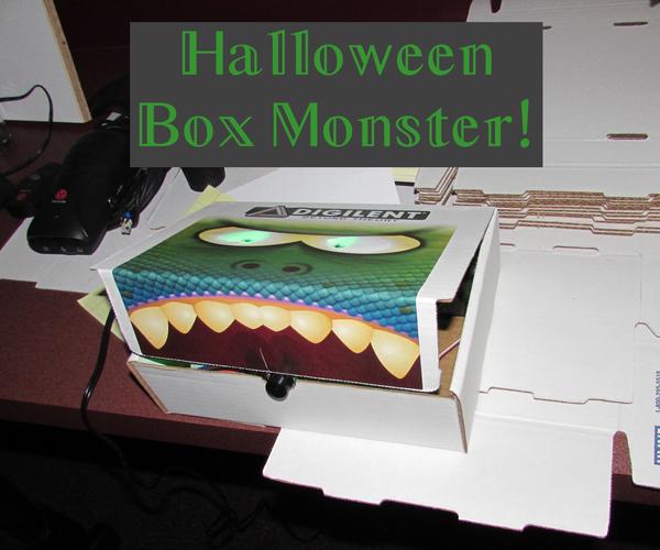Halloween Box Monster