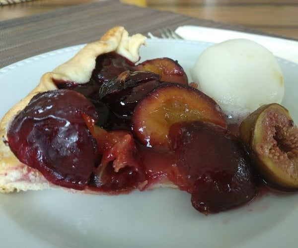 AUTUMN GALETTE With Plums and Figs