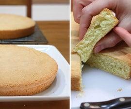 海绵蛋糕(只有3种配料!)