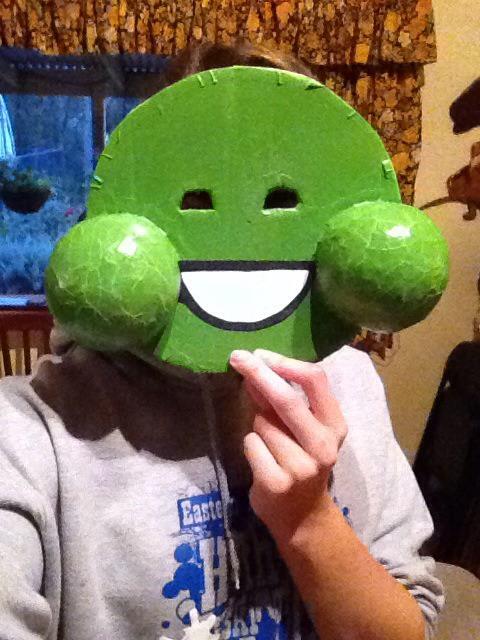 Green Slime Ghost Mask
