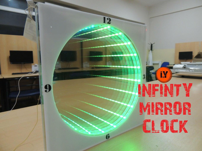 INFINITY MIRROR CLOCK & AMAZING ANIMATION