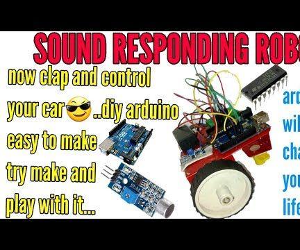 Sound Responding Arduino Robot