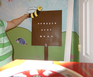 Turn Your Electric Panel Into a Hundred Acre Wood Sign