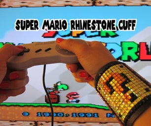 Super Mario Rhinestone Cuff