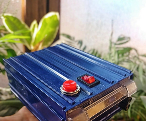 DIY Electrostatic Dust Print Lifter