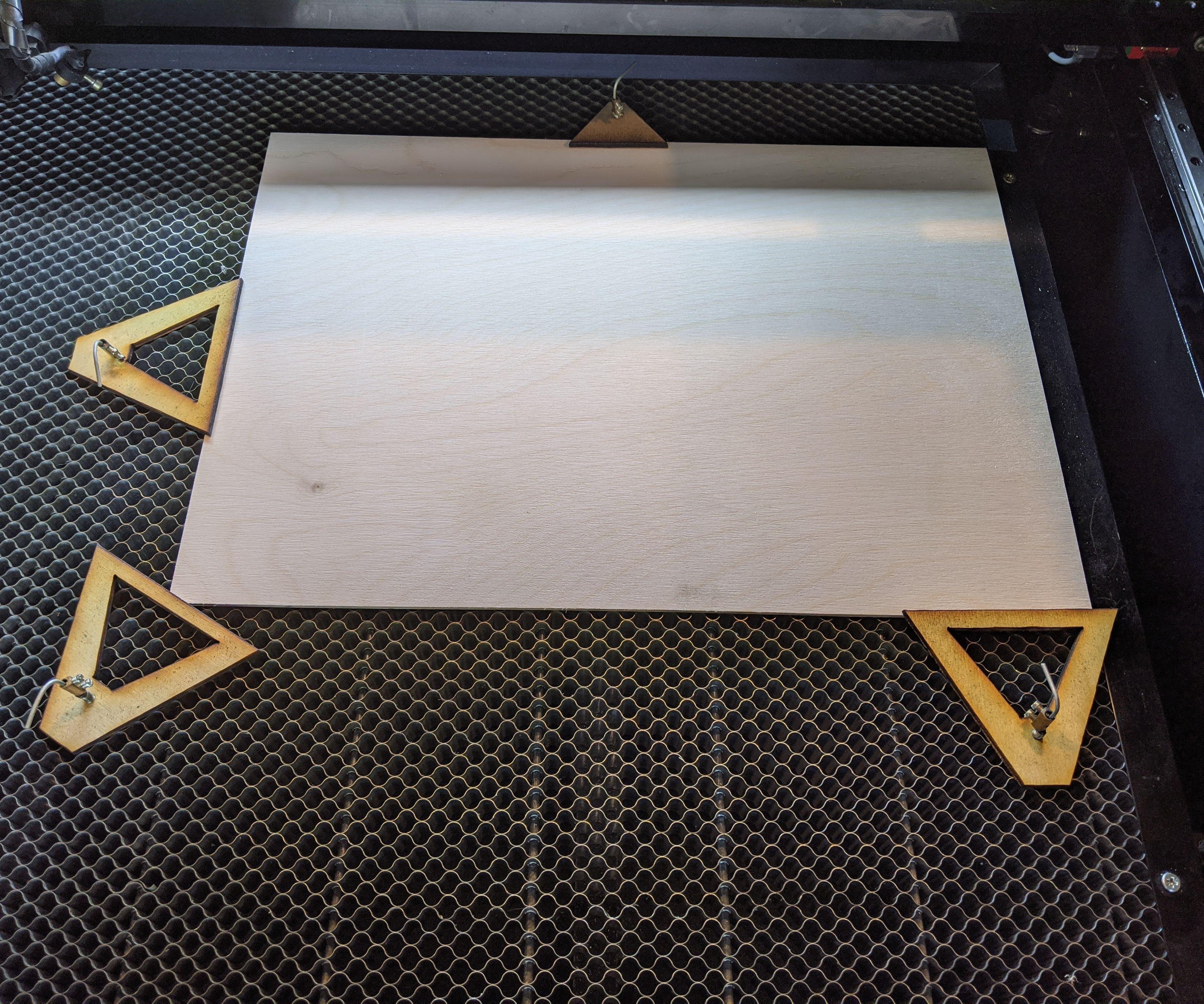 Laser Cutter Clamp