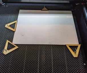 Laser Cutter Clamp (Quick Release)