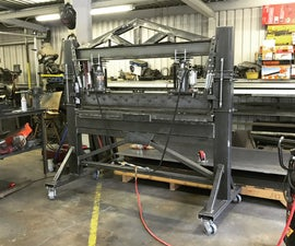 Building a 40 Ton Hydraulic Press Brake Machine