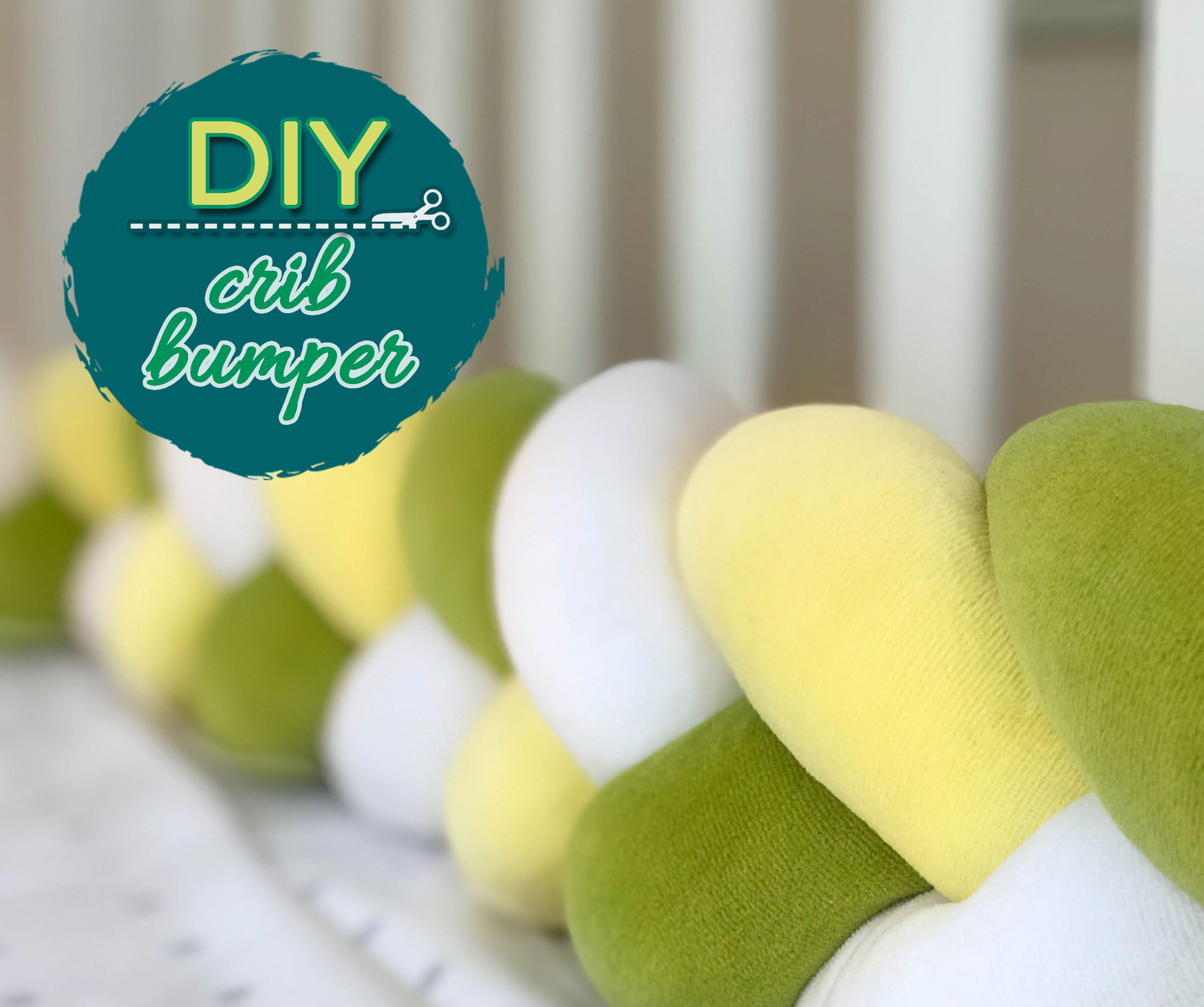 Baby Crib Cot Braided Bumper 6 Steps With Pictures Instructables