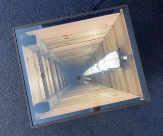 Deep Hole in a Small Box, a Different Take on the Infinity Mirror.