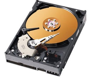 A Hard Drive in Action