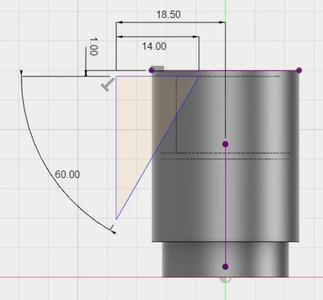 Create the Blade Sketch