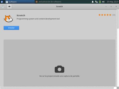 Paso 7: Iniciar Xubuntu E Instalar Scratch