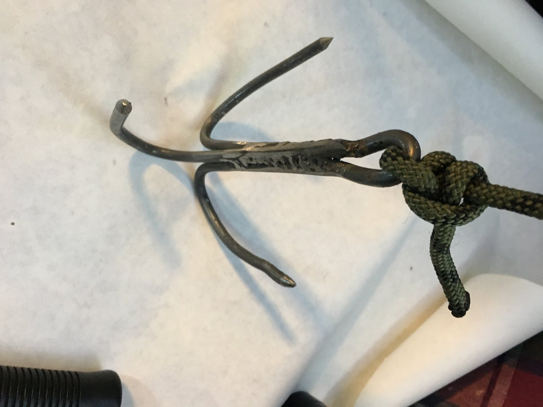 DIY Welded Grappling Hook