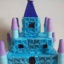 Quilled 3d Castle