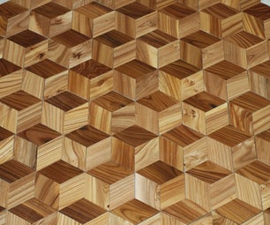Make a Hardwood Floor That Looks 3D From Your OWN Trees