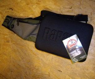Eeepc in a Fishing Bag