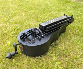 Laser Cut and 3D Printed Medieval Instrument - Nerdy Gurdy Project