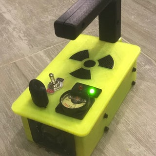 How to Make a Fake Geiger Counter