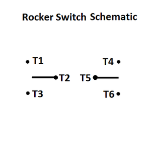 Wiring the Rectangle Rocker Switch