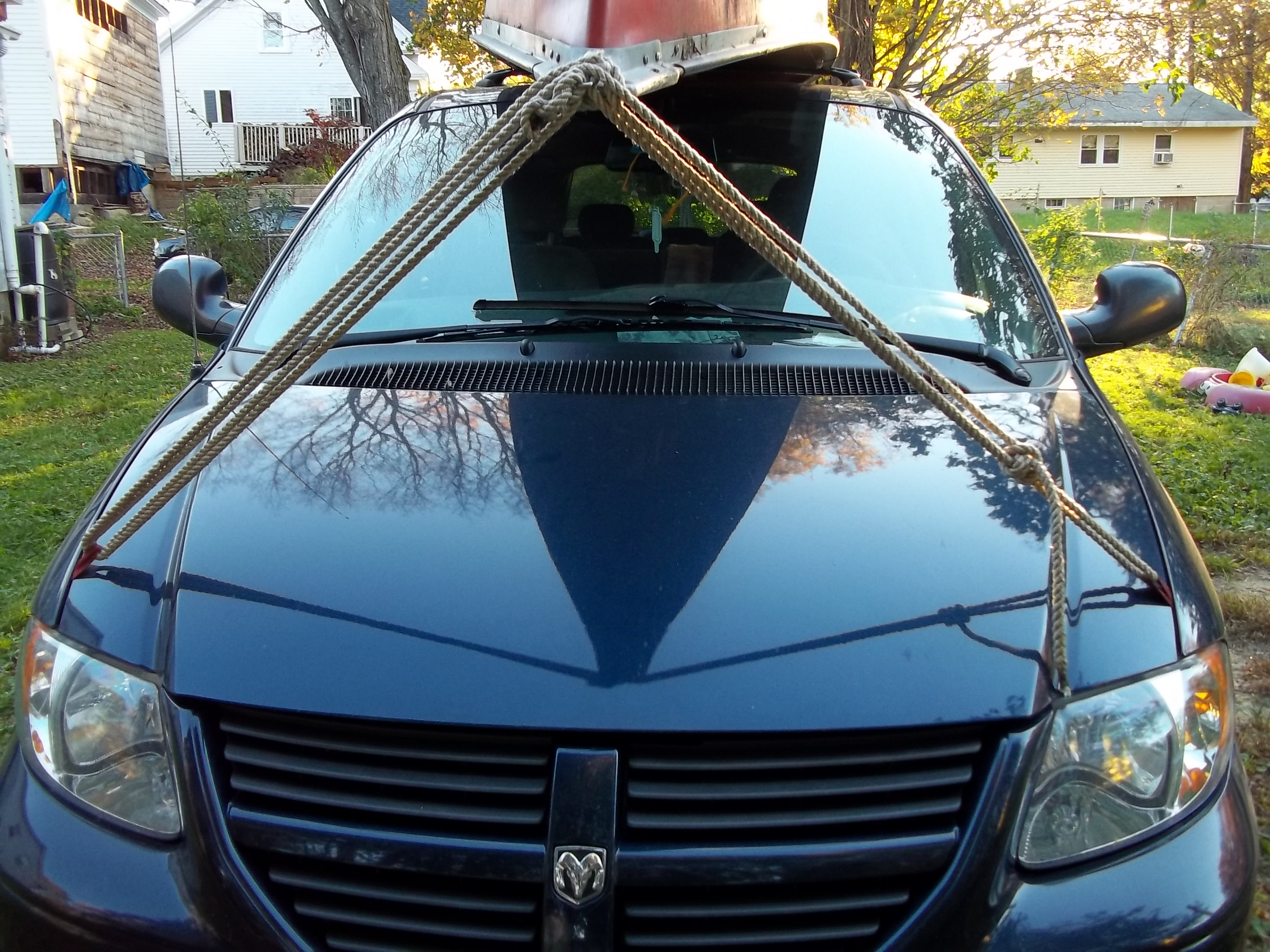 Car tie down anchors, the easy way to tie anything to your car roof quickly and safely