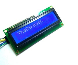 Interface I2C LCD Using NodeMCU