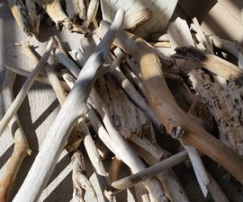 Driftwood Spirit Power Carving